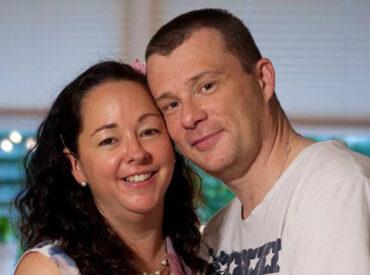 Tina og hendes mand Neil - Campbell.dk